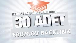 Ben, manuel, 30+ adete kadar yüksek otoriteli edu/gov backlink sağlarım.